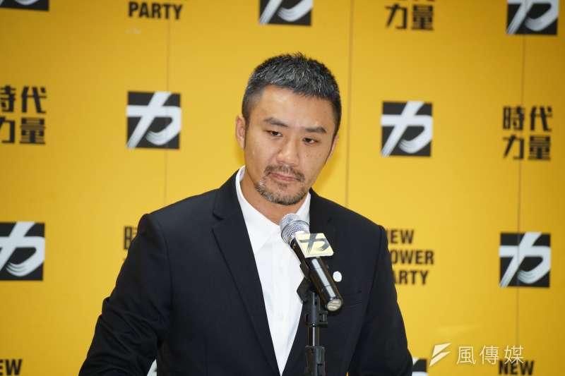 針對台北市第二選區、新北市第三選區立委選舉,時代力量決策會議15日以5:4否決掉陳志明(見圖)的提名案。(資料照,盧逸峰攝)