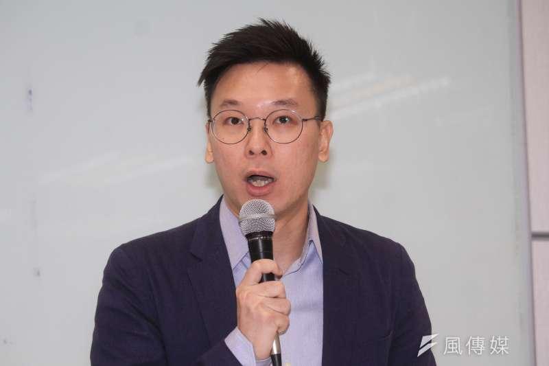 民進黨秘書副秘書長林飛帆(見圖)是相當搶手的「助選員」,不少民進黨立委候選人都指名找他站台加強聲勢。(資料照,蔡親傑攝)