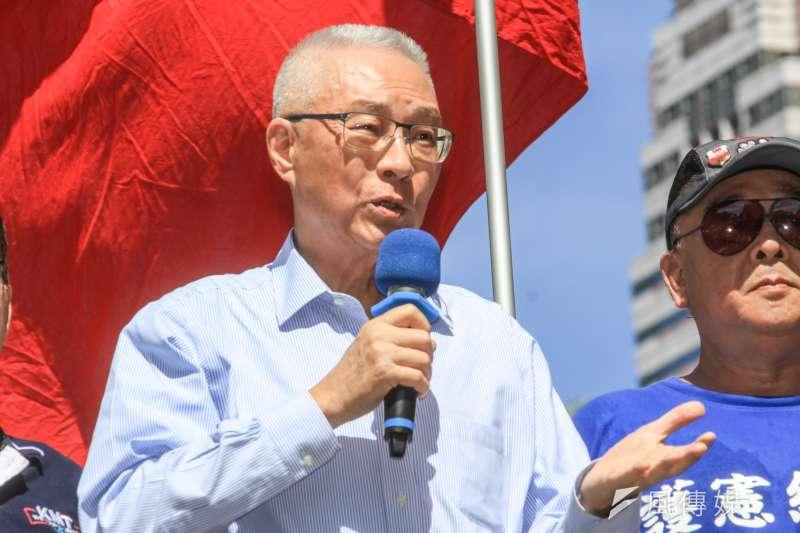 針對派員赴陸會面國台辦主任劉結一,國民黨主席吳敦義(見圖)3日表示,談的是不滿陸方取消自由行,影響台灣旅遊業。(蔡親傑攝)