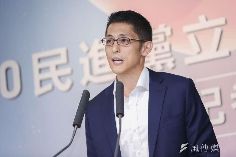 媒體人劉寶傑諷刺民進黨立委參選吳怡農(見圖)就是「有當兵的連勝文」。(資料照,簡必丞攝)
