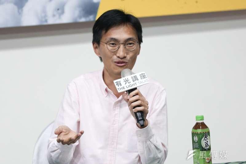 20190904-光合基金會4日舉辦「香港怎麼了,台灣怎麼辦」座談會,香港立法會議員朱凱迪出席與談。(簡必丞攝)