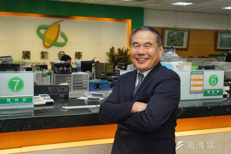 20190906-全國農業金庫董事長吳明敏接受《風傳媒》專訪。(盧逸峰攝)