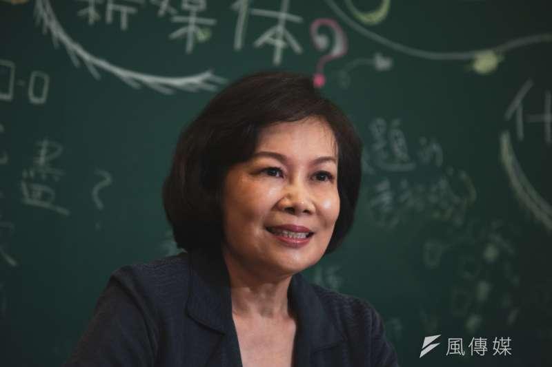 20190907-台大財金系兼任教授陳嫦芬專訪。(簡必丞攝)