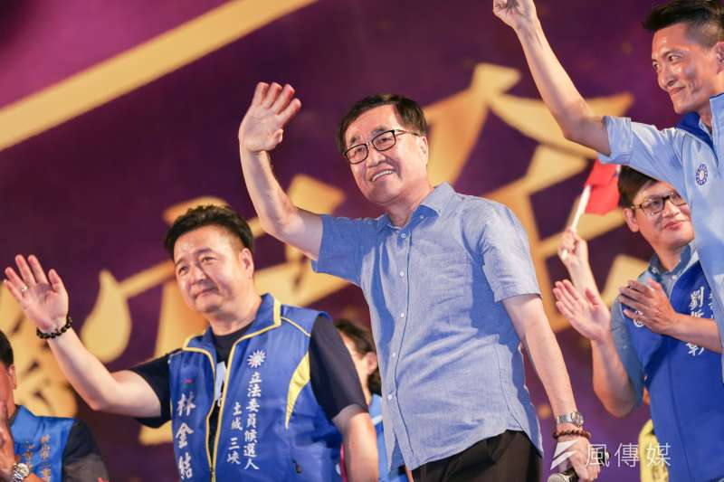 20190908-高雄副市長李四川8日出席韓國瑜新北市造勢活動。(簡必丞攝)