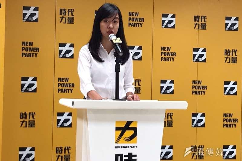 20190910-時代力量秘書長吳佩芸透露,立委黃國昌是時力自提總統的人選之一。(黃信維攝)
