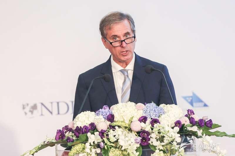 20190910-美國國務院副助卿巴斯比10日出席GCTF第2次媒體識讀國際工作坊開幕活動。(簡必丞攝)