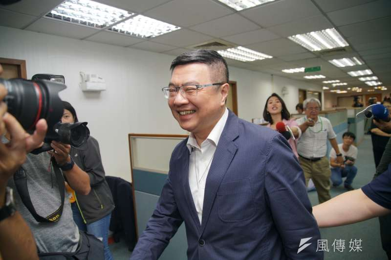 民進黨主席卓榮泰表示,在野黨經常杯葛武器國造、軍購相關提案,但國防議題不應被視為政治攻防籌碼。(盧逸峰攝)