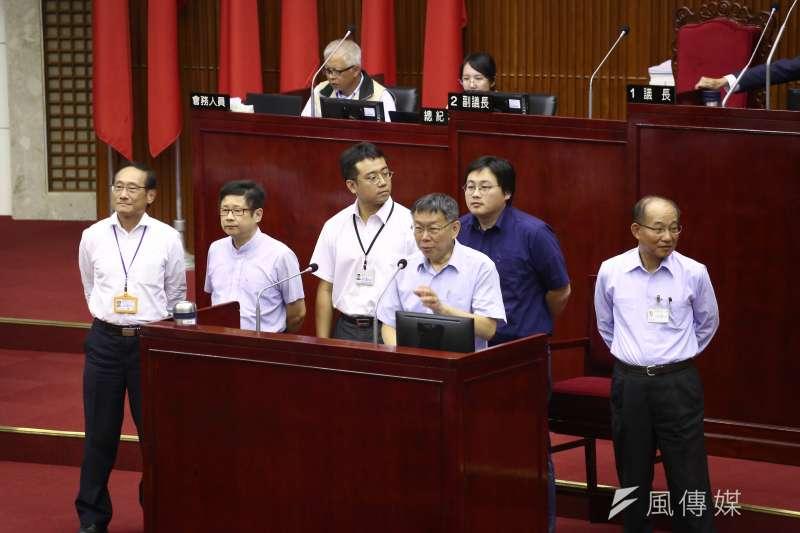 台北市議會決定,4月15日開議。(資料照片,陳品佑攝)