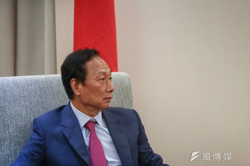 高雄市長韓國瑜才德不配大位,就是郭台銘獨立參選的正當性。(陳品佑攝)