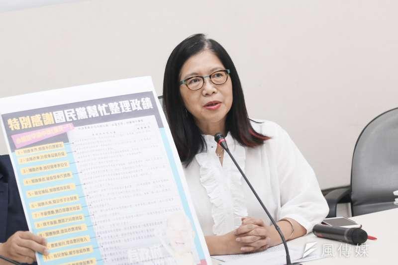 台灣在一個星期之內失去2個邦交國,民進黨立法院黨團幹事長管碧玲分析,這是中國的「黑英」四彈之一。(資料照,簡必丞攝)
