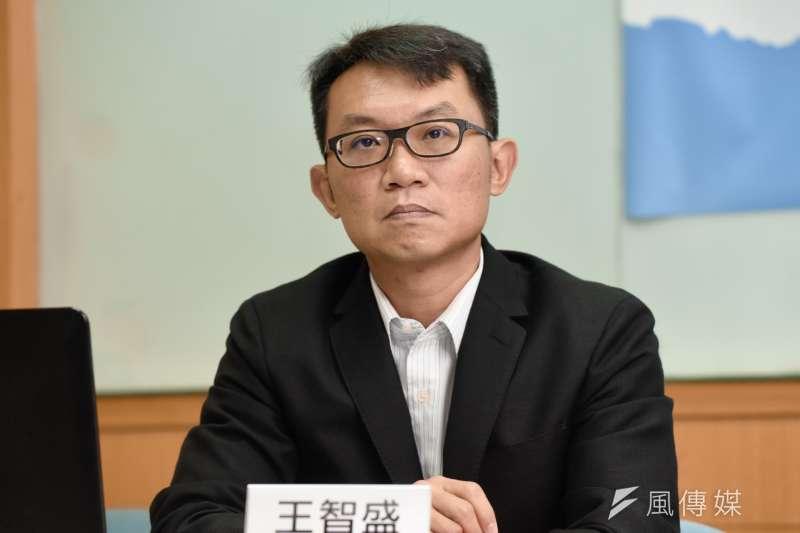 20190912-王智盛教授12日出席兩岸政策協會「近期兩岸議題與2020總統大選投票意向」民調座談會。(簡必丞攝)