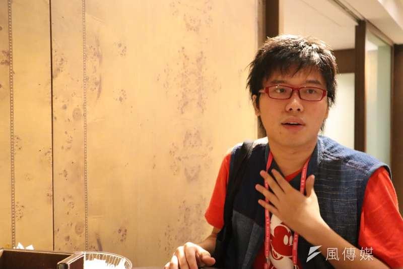 泰國學生運動領袖秦聯豐9月13日出席台北「奧斯陸自由論壇」。(王穎芝攝)