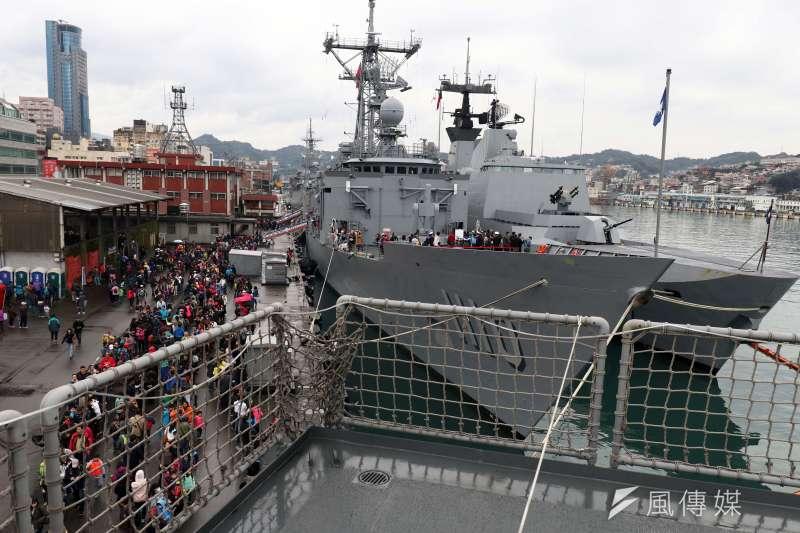 海軍司令部將於28日在基隆港區舉辦營區開放活動。(資料照,蘇仲泓攝)