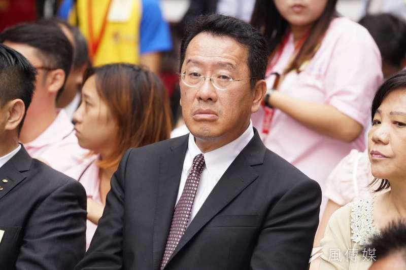 20190917-金管會主委顧立雄出席雞籠城隍文化祭活動。(盧逸峰攝)