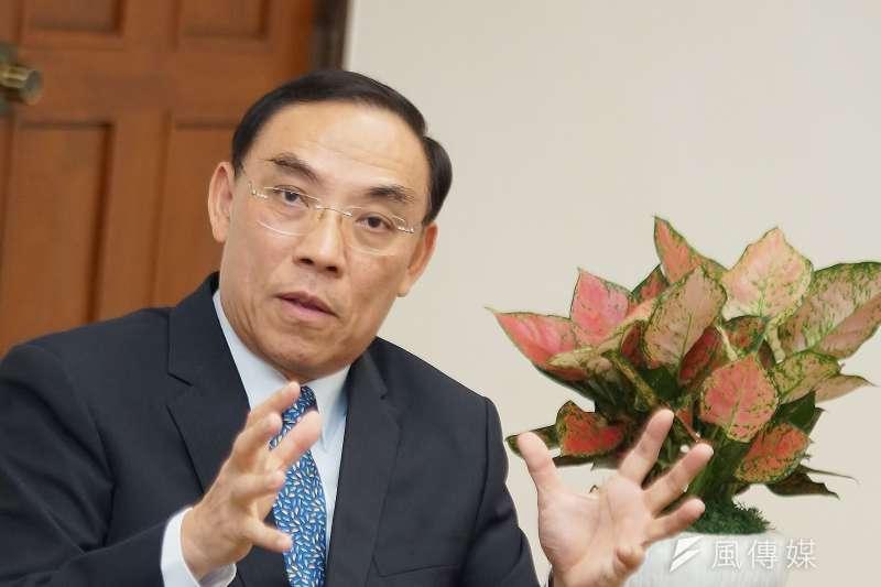 法務部長蔡清祥針對陳同佳案表示,港府有無管轄權部分,應由香港法院作出正式裁定,絕對不會私了。(資料照,盧逸峰攝)
