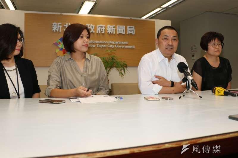 侯友宜18日將率隊赴新加坡、泰國、越南進行七天市政考察。(圖/李梅瑛攝)