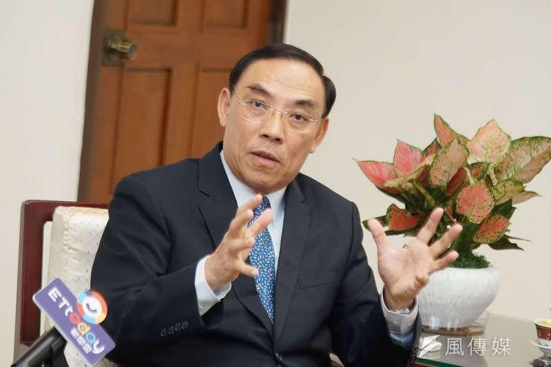 法務部長蔡清祥表示,中國介入台灣選舉的情形日益嚴重,且技巧愈發高明。(盧逸峰攝)