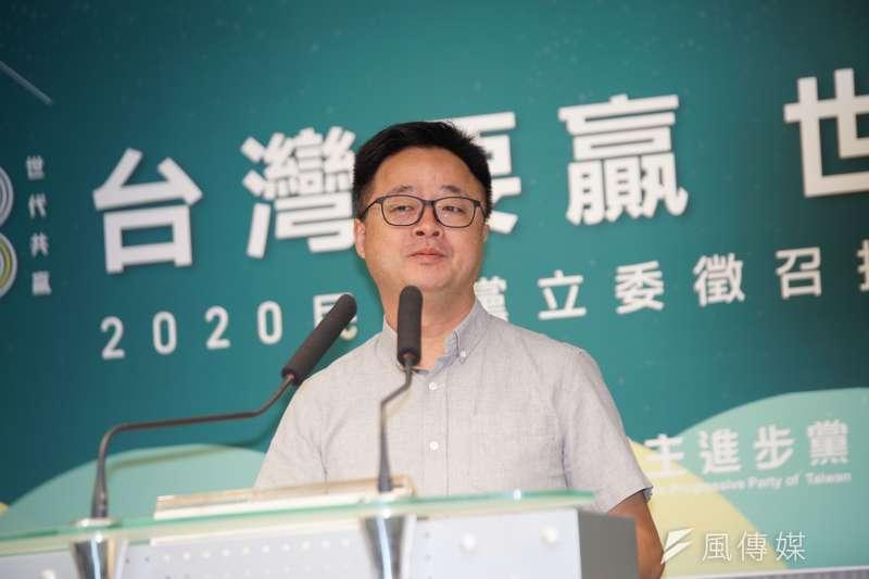民進黨秘書長羅文嘉表示,11月30日開始黨中央的「護國保台助選團」將正式成軍,首站從屏東出發。(資料照,盧逸峰攝)