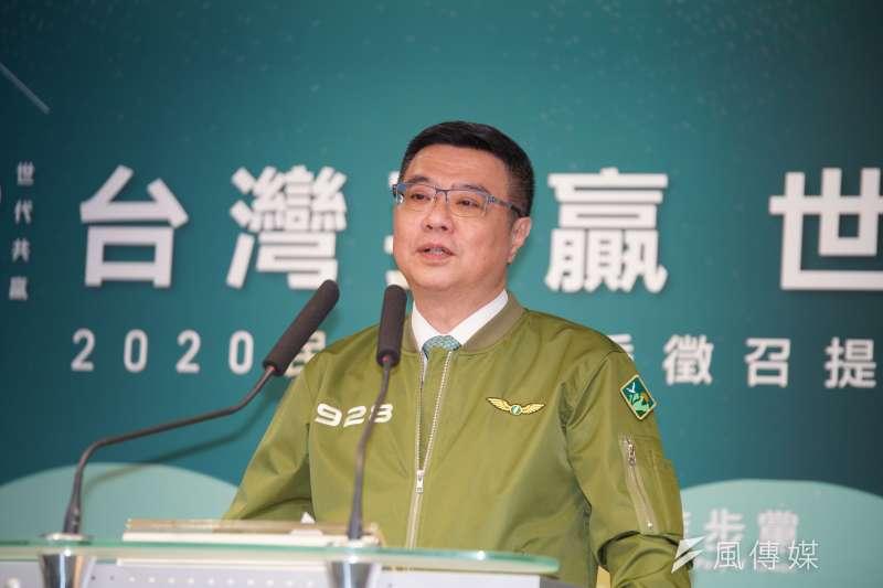 民進黨主席卓榮泰批評,國民黨將推動「黑英三部曲」,小心會引火自焚。(資料照片,盧逸峰攝)