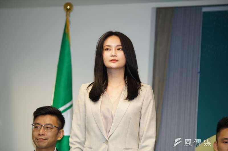 20190918-賴品妤出席民進黨立委提名發佈記者會。(盧逸峰攝)