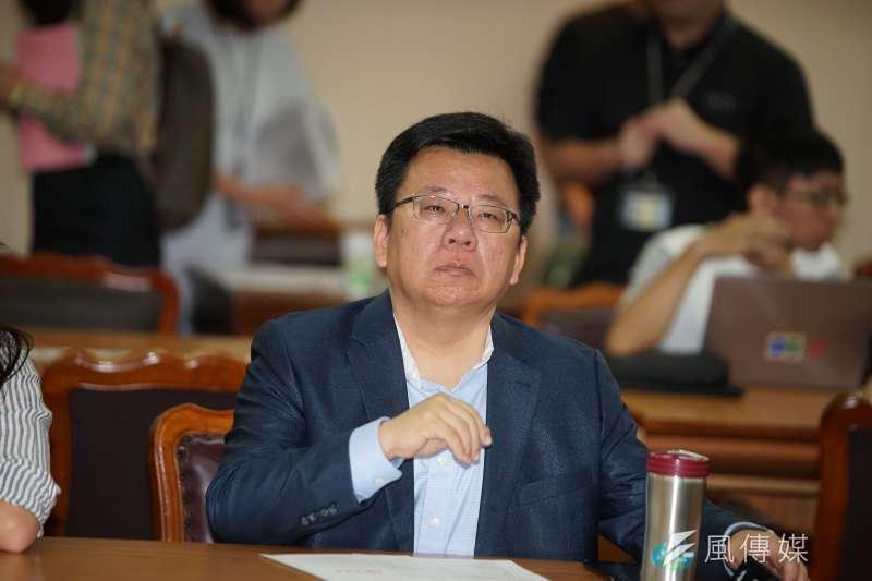 20190919-立法院內政委員會召委選舉,立委李俊俋出席。(盧逸峰攝)