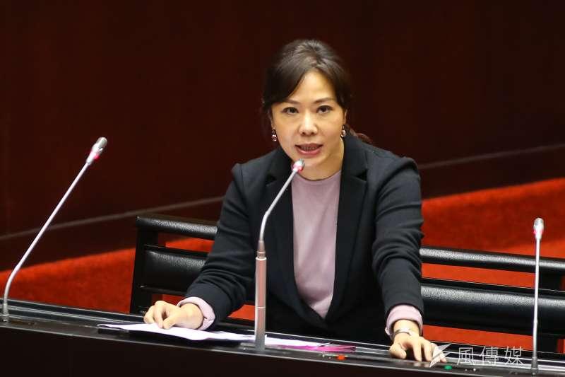 20190920-國民黨立委李彥秀20日於立院質詢。(顏麟宇攝)