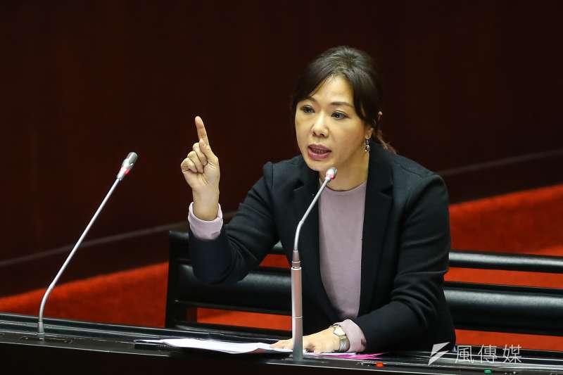國民黨立委李彥秀(見圖)分析,在黨內總統候選人韓國瑜發表國慶談話後,有2件事讓他們藍營立委們感到定調。(資料照,顏麟宇攝)