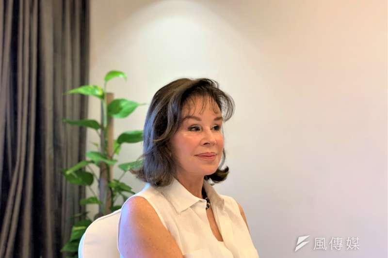 祕魯前外長夫人龔薩蕾絲曾在台灣住了近3年(簡恒宇攝)