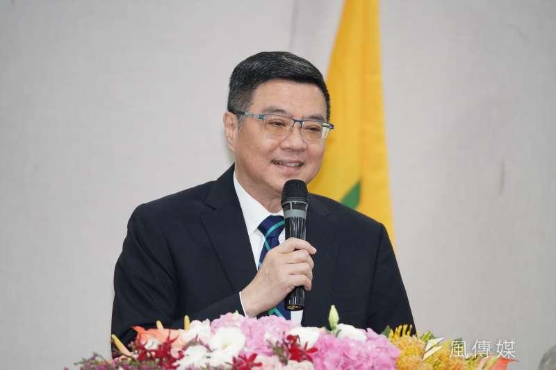 民進黨主席卓榮泰黨慶前夕臉書發文。(資料照片,盧逸峰攝)