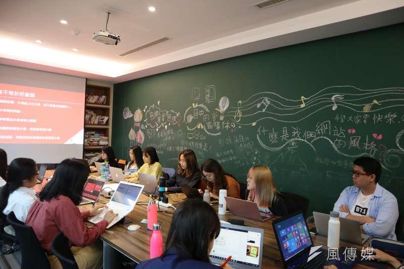 《風傳媒》國際中心舉辦「編譯記者的冒險工廠」研習營。(國際中心攝)