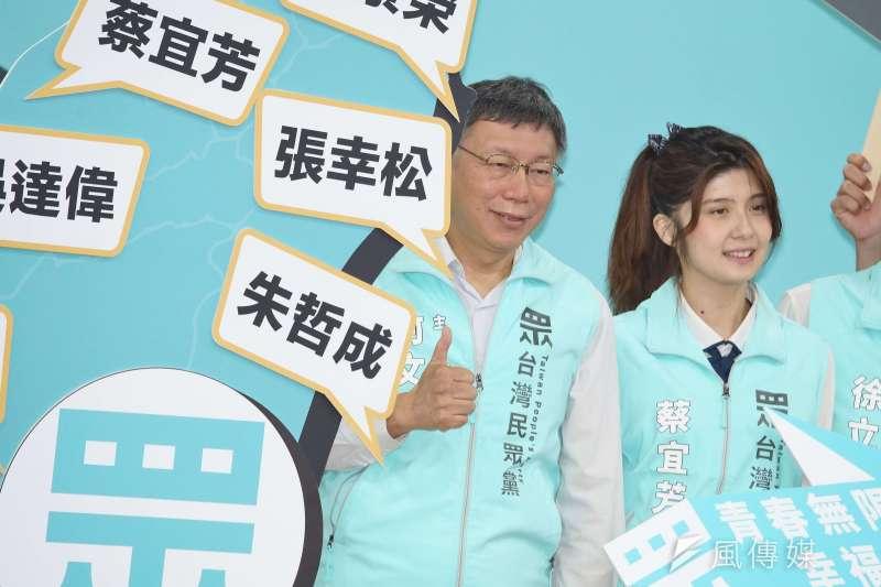 台灣民眾黨搶攻政黨,對打算維持國會過半的民進黨帶來威脅。(資料照片,盧逸峰攝)