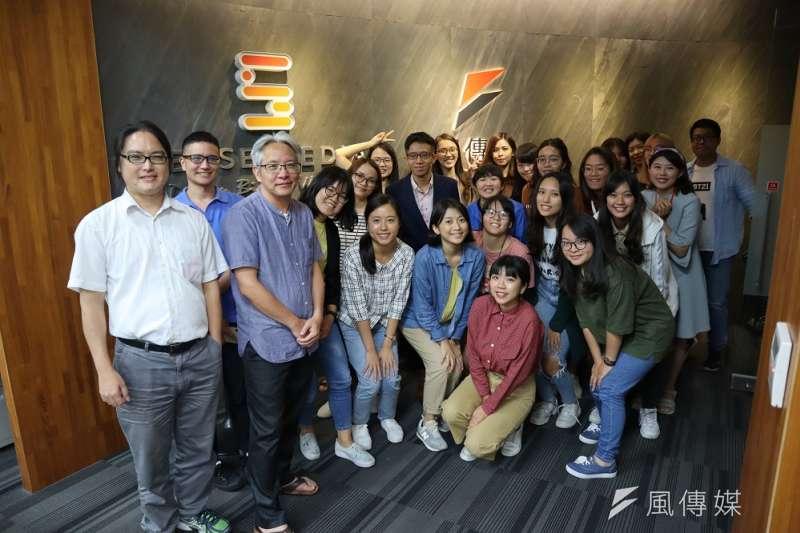 《風傳媒》國際新聞中心二度舉辦「編譯記者的冒險工廠」工作坊。(陳力瑋攝)