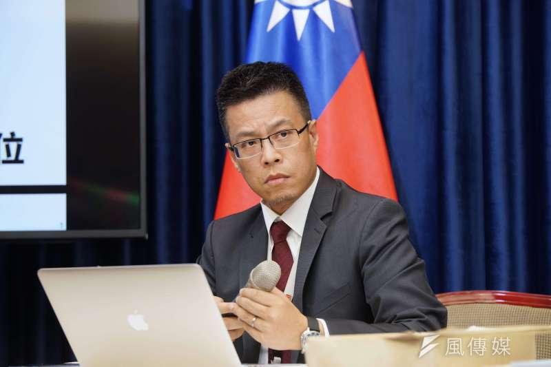 總統府發言人黃重諺將轉任總統辦公室主任。(資料照,盧逸峰攝)