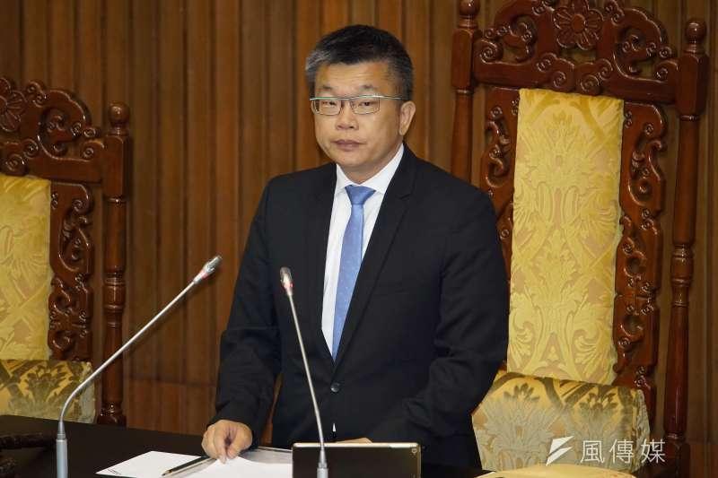立法院副院長蔡其昌(見圖)表示,13日起開始為國會正副院長之事徵詢同僚意見。(資料照,盧逸峰攝)