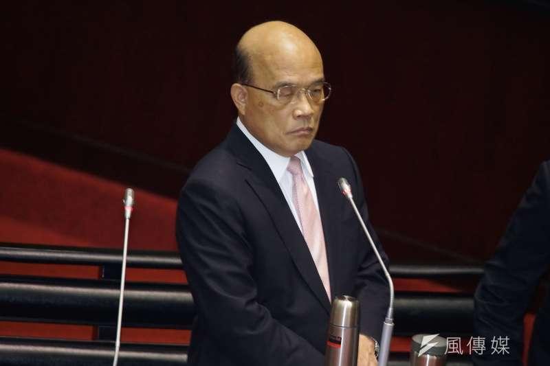 20190924-立法院院會,行政院長蘇貞昌備詢。(盧逸峰攝)