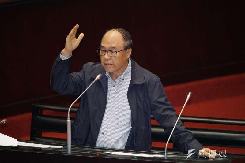 20190924-立法院院會,立委蔣乃辛質詢。(盧逸峰攝)