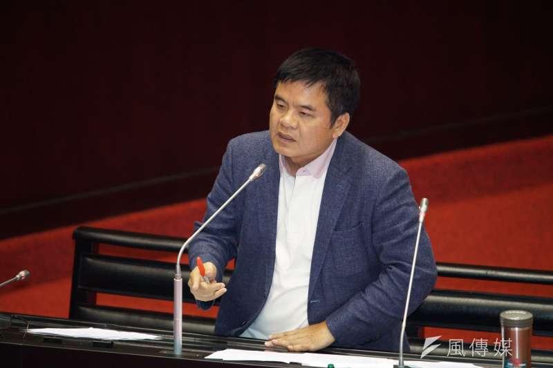 20190924-立法院院會,立委莊瑞雄質詢。(盧逸峰攝)