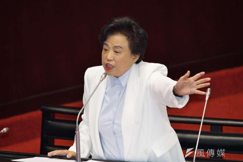 20190924-立法院院會,立委沈智慧質詢。(盧逸峰攝)