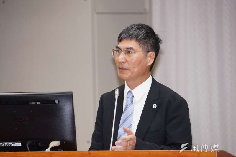 20190925-科技部長陳良基於教育文化委員會列席備詢。(盧逸峰攝)