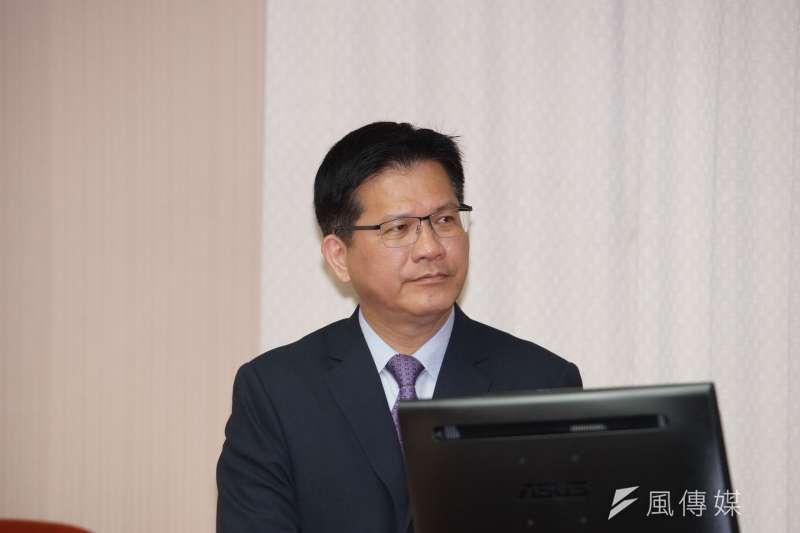 20190925-交通部長林佳龍於交通委員會備詢。(盧逸峰攝)