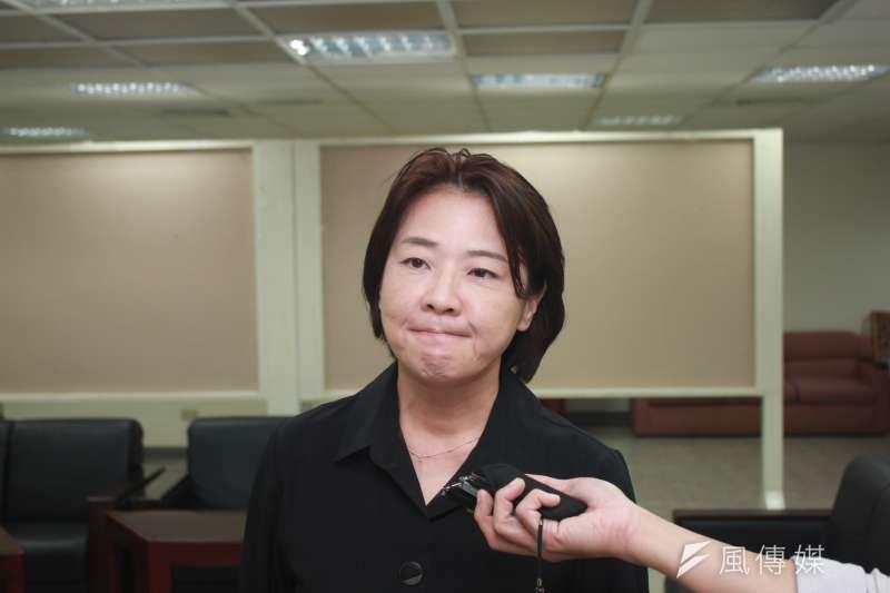 即將成為台北市副市長的親民黨台北市議員黃珊珊(見圖)強調,主席宋楚瑜很大度,以宋楚瑜的高度而言,他並不會太在乎這種枝微末節的瑣碎小事。(資料照,方炳超攝)