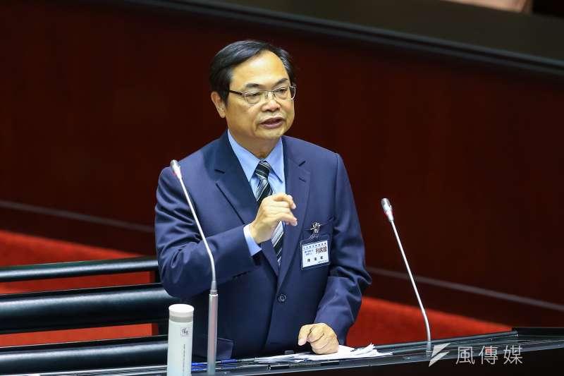 20190926-審計部審計長被提名人陳瑞敏26日於立院備詢。(顏麟宇攝)