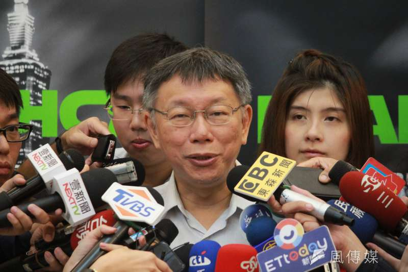 台北市長柯文哲(見圖)認為,大部分的「柯粉」都是比較理智的年輕知識分子。(資料照,方炳超攝)