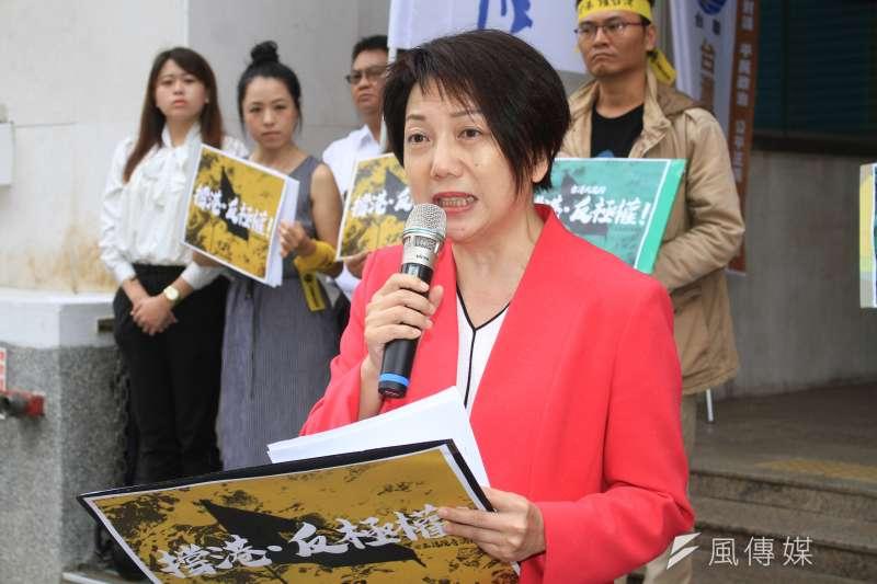 前社民黨主席范雲可能列入民進黨不分區名單。(蔡親傑攝)