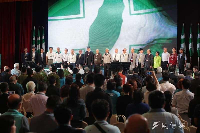 民進黨28日在創黨地點圓山大飯店舉辦全代會,前總統陳水扁未出席。(顏麟宇攝)