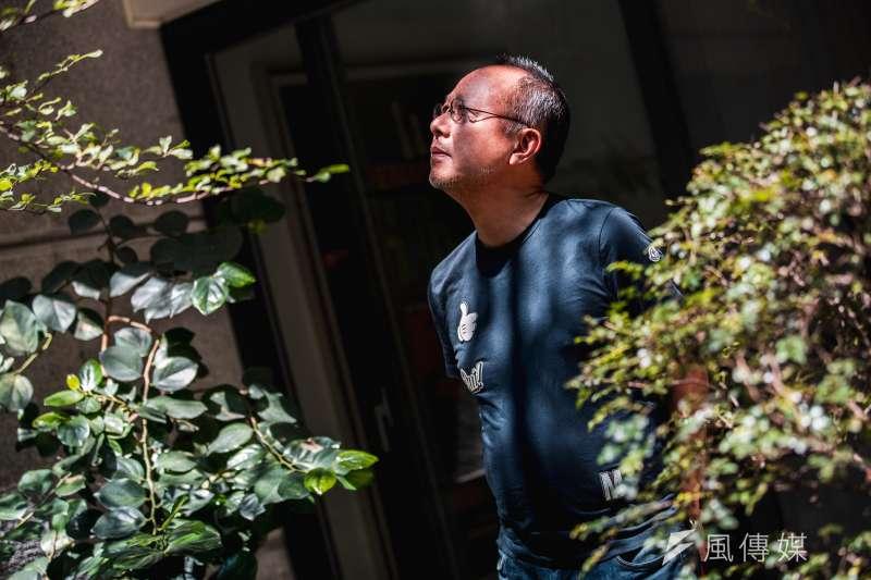 導演鍾孟宏在新作《陽光普照》裡,刻畫了一個家的樣貌。(簡必丞攝)