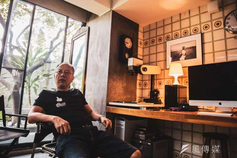 《陽光普照》14日舉行上映記者會,導演鍾孟宏表示劇中的父子關係,部分自於自己身為人父的經驗,認為當父親是很困難的一件事。(資料照,簡必丞攝)