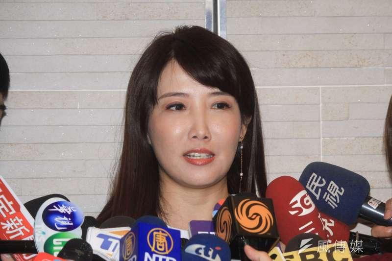 前新聞主播、郭台銘辦公室發言人蔡沁瑜(見圖)透露,自己曾在工作時,因為想起女兒罹癌而當場淚灑主播台。(資料照,蔡親傑攝)