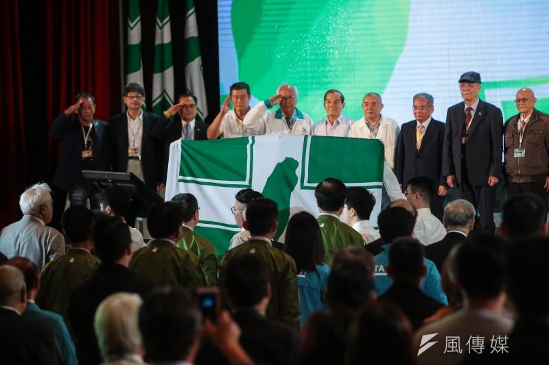 民進黨新決議文《社會共行世代共贏決議文》強調是要向臺灣各界表明民進黨對下一階段臺灣經濟社會轉型的看法與主張,但卻大談政治,高舉意識形態大旗。。(資料照,顏麟宇攝)