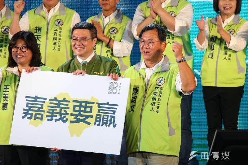20190928-民進黨立委陳明文28日出席民進黨全代會。(顏麟宇攝)
